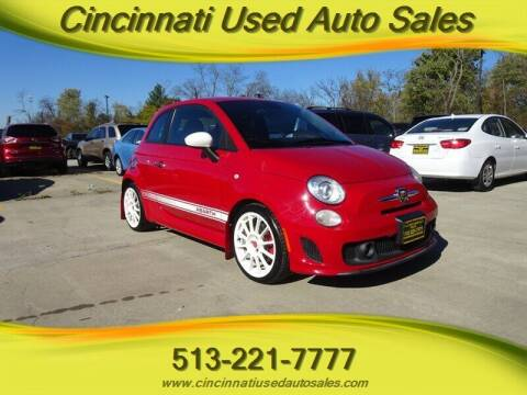 2015 FIAT 500 for sale at Cincinnati Used Auto Sales in Cincinnati OH