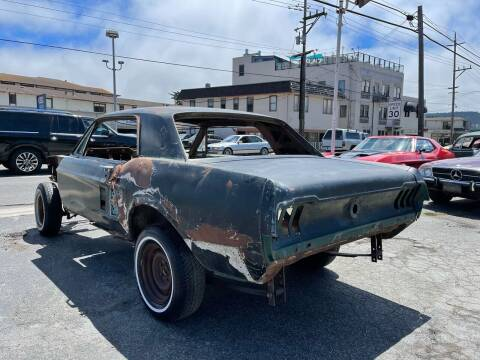 1967 Ford Mustang for sale at Dodi Auto Sales in Monterey CA