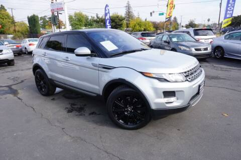 2014 Land Rover Range Rover Evoque for sale at Industry Motors in Sacramento CA