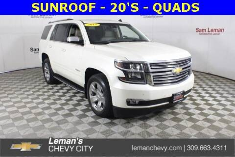 2015 Chevrolet Tahoe for sale at Leman's Chevy City in Bloomington IL