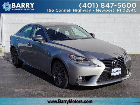 2015 Lexus IS 250 for sale at BARRYS Auto Group Inc in Newport RI