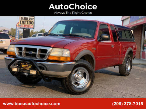 1999 Ford Ranger for sale at AutoChoice in Boise ID
