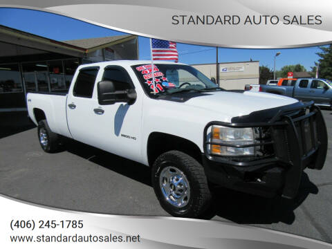 2011 Chevrolet Silverado 2500HD for sale at Standard Auto Sales in Billings MT