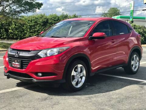 2016 Honda HR-V for sale at RUSH AUTO SALES in Burlington NC