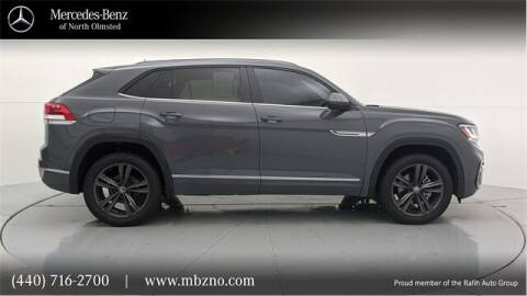 2021 Volkswagen Atlas Cross Sport for sale at Mercedes-Benz of North Olmsted in North Olmsted OH
