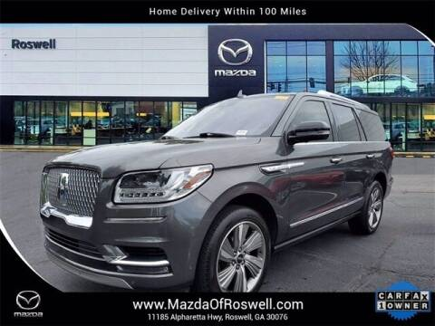 2018 Lincoln Navigator for sale at Mazda Of Roswell in Roswell GA