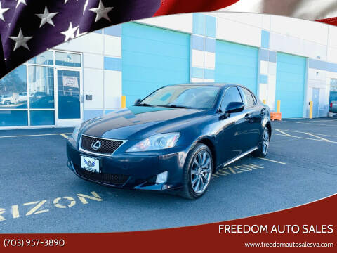 2006 Lexus IS 250 for sale at Freedom Auto Sales in Chantilly VA
