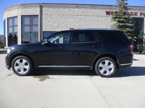 2015 Dodge Durango for sale at Elite Motors in Fargo ND