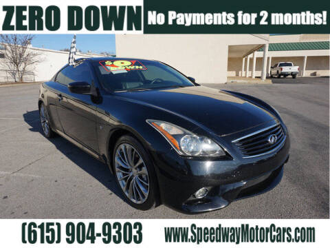 2014 Infiniti Q60 Coupe for sale at Speedway Motors in Murfreesboro TN
