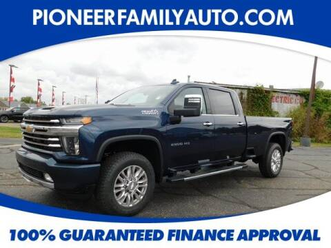2020 Chevrolet Silverado 2500HD for sale at Pioneer Family Preowned Autos in Williamstown WV