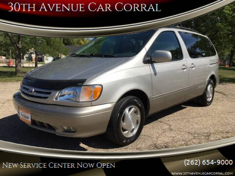 2003 Toyota Sienna for sale at 30th Avenue Car Corral in Kenosha WI