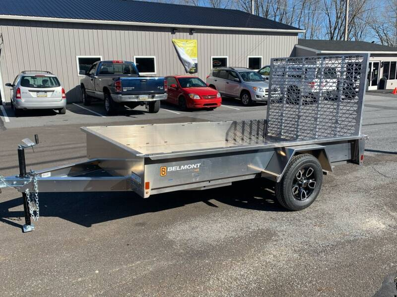 2021 Belmont 6x10 Aluminum Solid Side for sale at Smart Choice 61 Trailers in Shoemakersville PA