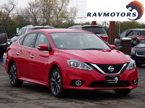 2019 Nissan Sentra for sale at RAVMOTORS in Burnsville MN