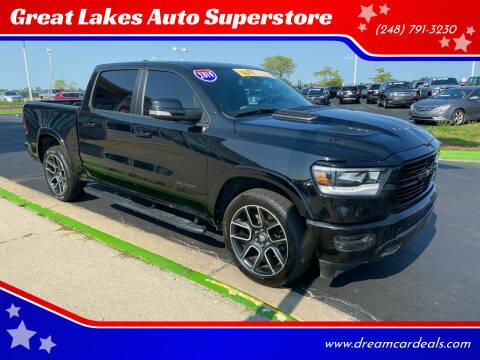 2019 RAM Ram Pickup 1500 for sale at Great Lakes Auto Superstore in Waterford Township MI