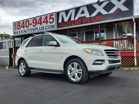 2012 Mercedes-Benz M-Class for sale at Maxx Autos Plus in Puyallup WA