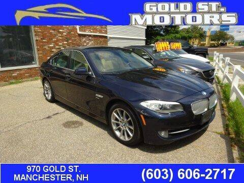 2012 BMW 5 Series for sale at Gold St. Motors in Manchester NH