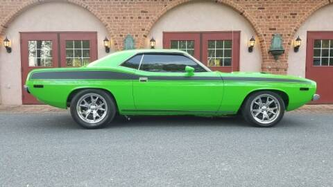 1973 Plymouth Barracuda for sale at McQueen Classics in Lewes DE