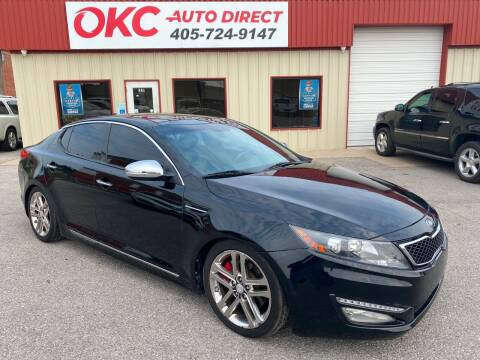 2013 Kia Optima for sale at OKC Auto Direct in Oklahoma City OK