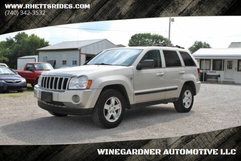 2007 Jeep Grand Cherokee for sale at WINEGARDNER AUTOMOTIVE LLC in New Lexington OH