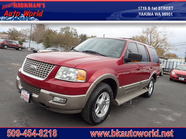 2004 Ford Expedition for sale at Bruce Kirkham Auto World in Yakima WA
