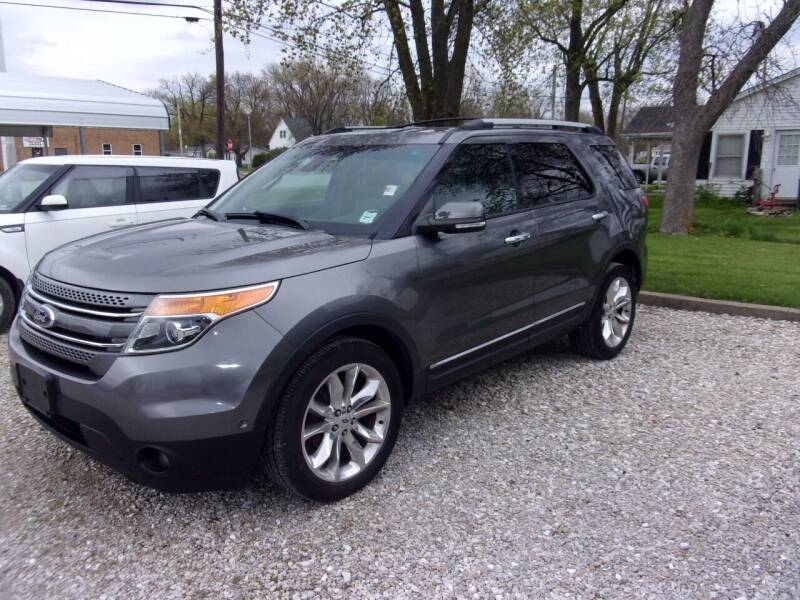 2013 Ford Explorer for sale at VANDALIA AUTO SALES in Vandalia MO