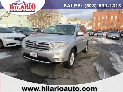 2011 Toyota Highlander for sale at Hilario's Auto Sales in Worcester MA