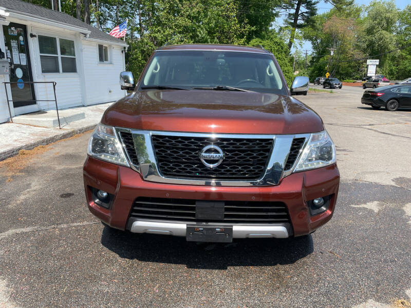 2017 Nissan Armada for sale at USA Auto Sales in Leominster MA