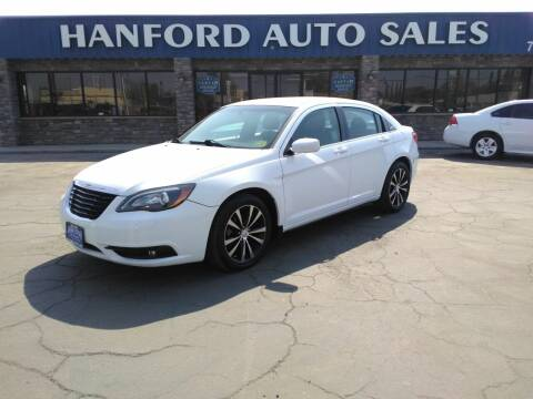 2014 Chrysler 200 for sale at Hanford Auto Sales in Hanford CA