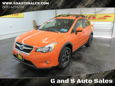 2013 Subaru XV Crosstrek for sale at G and S Auto Sales in Ardmore TN