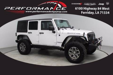 2014 Jeep Wrangler Unlimited for sale at Auto Group South - Performance Dodge Chrysler Jeep in Ferriday LA