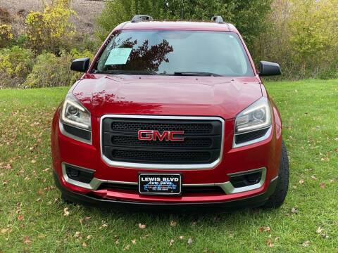 2014 GMC Acadia for sale at Lewis Blvd Auto Sales in Sioux City IA