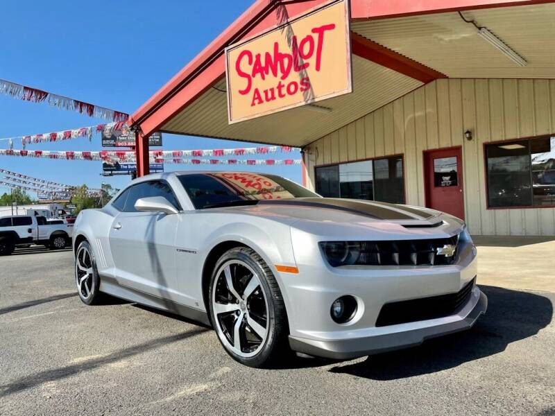 2010 Chevrolet Camaro for sale at Sandlot Autos in Tyler TX