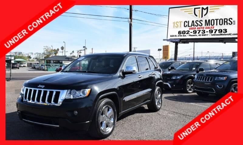 2011 Jeep Grand Cherokee for sale at 1st Class Motors in Phoenix AZ