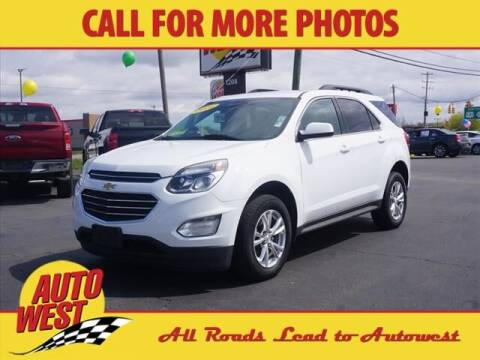 2016 Chevrolet Equinox for sale at Autowest of Plainwell in Plainwell MI