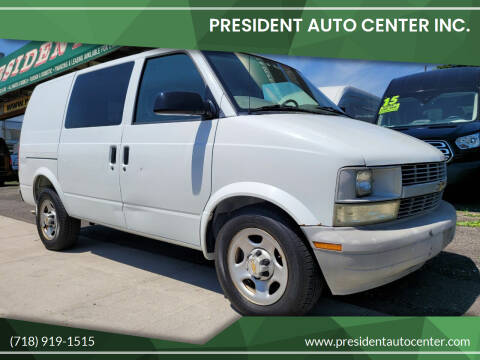 2004 Chevrolet Astro Cargo for sale at President Auto Center Inc. in Brooklyn NY