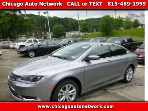 2015 Chrysler 200 for sale at Chicago Auto Network in Mokena IL