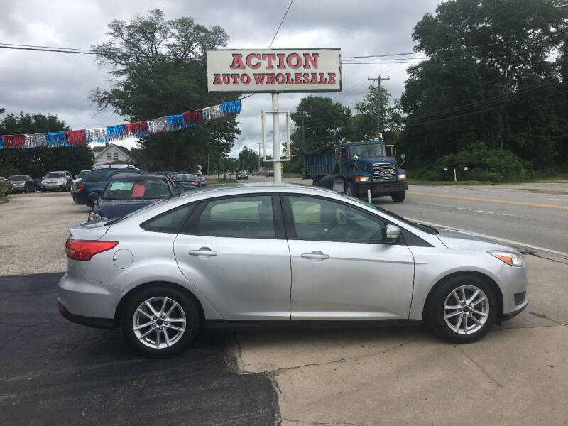 2015 Ford Focus for sale at Action Auto Wholesale in Painesville OH