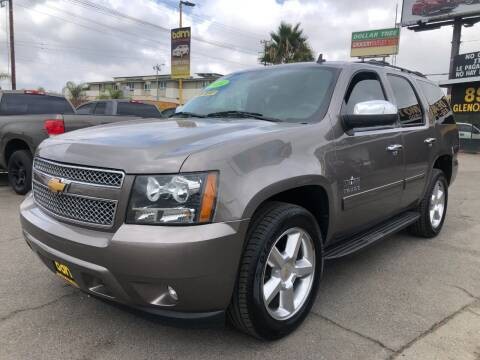 2014 Chevrolet Tahoe for sale at BEST DEAL MOTORS  INC. CARS AND TRUCKS FOR SALE in Sun Valley CA