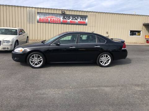 2012 Chevrolet Impala for sale at Stikeleather Auto Sales in Taylorsville NC