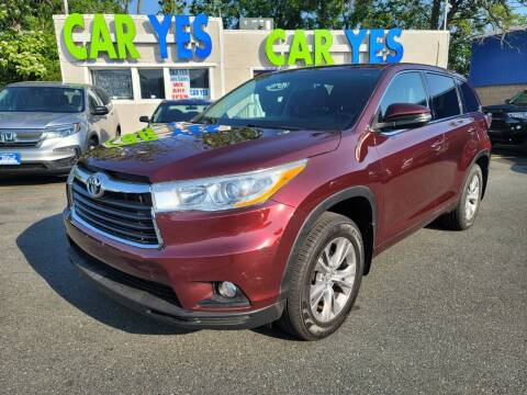 2014 Toyota Highlander for sale at Car Yes Auto Sales in Baltimore MD