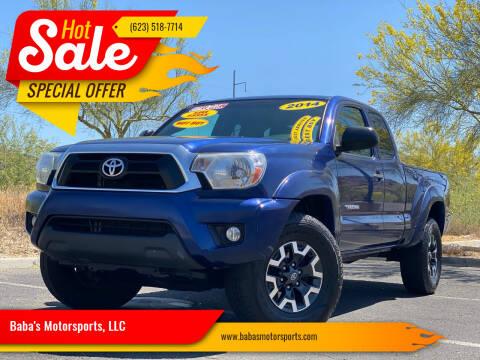 2014 Toyota Tacoma for sale at Baba's Motorsports, LLC in Phoenix AZ
