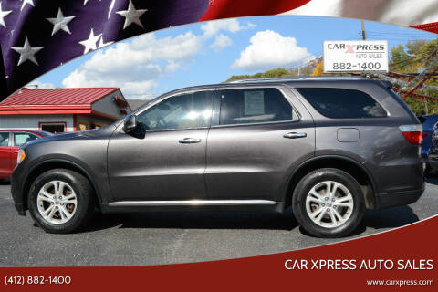 2013 Dodge Durango for sale at Car Xpress Auto Sales in Pittsburgh PA