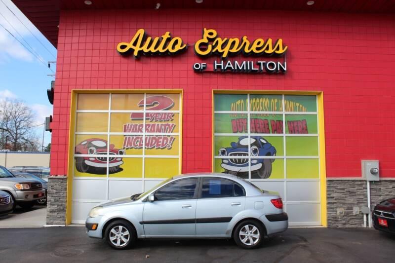 2008 Kia Rio for sale at AUTO EXPRESS OF HAMILTON LLC in Hamilton OH