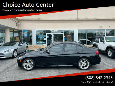 2016 BMW 3 Series for sale at Choice Auto Center in Shrewsbury MA