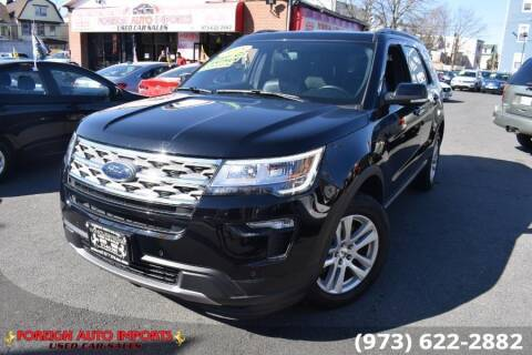 2018 Ford Explorer for sale at www.onlycarsnj.net in Irvington NJ