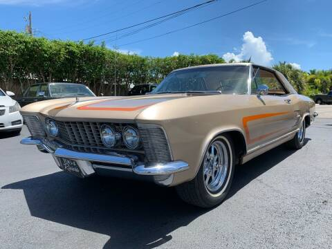 1964 Buick Riviera for sale at American Classics Autotrader LLC in Pompano Beach FL