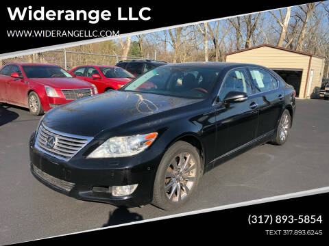 2011 Lexus LS 460 for sale at Widerange LLC in Greenwood IN