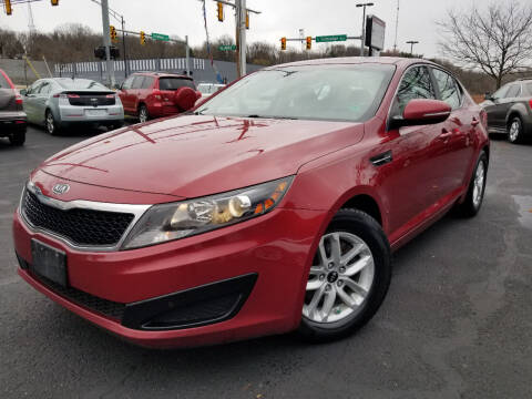 2011 Kia Optima for sale at Cedar Auto Group LLC in Akron OH
