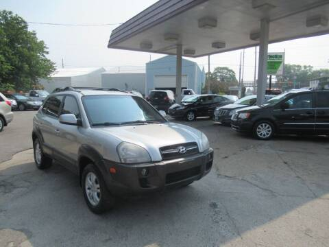 2007 Hyundai Tucson for sale at Perfection Auto Detailing & Wheels in Bloomington IL
