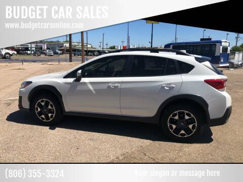 2019 Subaru Crosstrek for sale at BUDGET CAR SALES in Amarillo TX